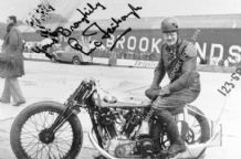 Brough Superior. Eric Fernihough. Brooklands lap record holder .Photo (b)